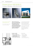 Sistem de ferestre din aluminiu SCHUCO - AWS 90 BS.SI+