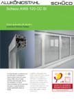 Sistem de ferestre din aluminiu SCHUCO - AWS 120 CC.SI