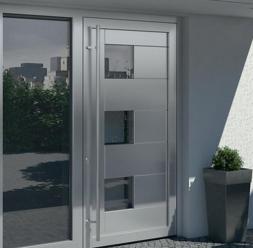 Profile din aluminiu pentru usi de exterior SCHUCO
