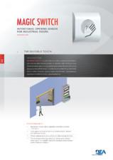 Sistem de deschidere contactless pentru usi industriale BEA