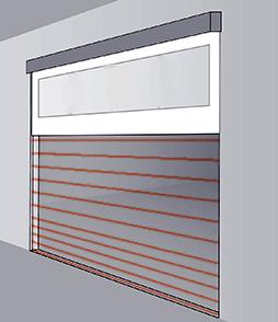 Grila infrarosu ProPlus Componente usi sectionale