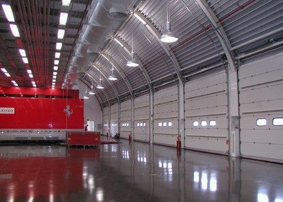 Usi sectionale pentru showroom, service, depozite si centre logistice GUNTHER-TORE