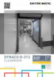Usi rapide de interior, pentru spatii curate, sterile DYNACO - D-313 CLEANROOM