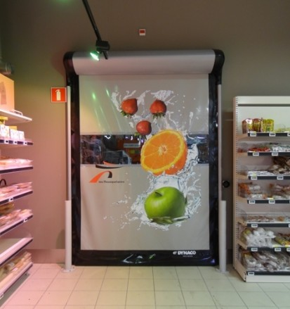 DYNACO-D-313-high-speed-roll-up-door-retail-7 D-313 Usi rapide din PVC