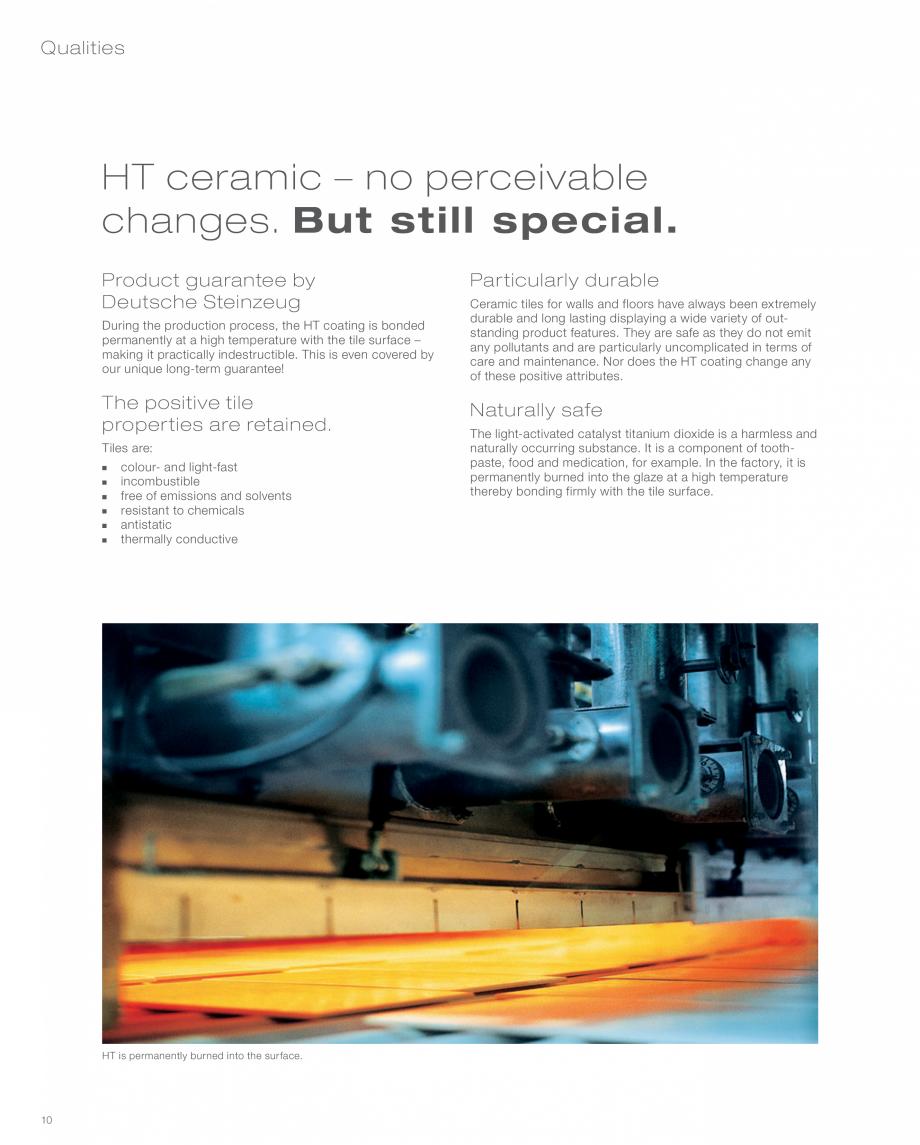 Pagina 10 - Inovatia HT pentru un mediu sanatos  AGROB BUCHTAL AGROB BUCHTAL Catalog, brosura...