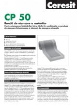 Banda de etansare a rosturilor CP 50 CERESIT