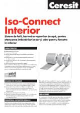 Sistem de folii - Iso-Connect Interior CERESIT