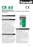 Mortar hidroizolant CERESIT - CR 65
