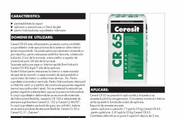 Mortar hidroizolant CERESIT