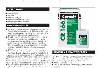 Hidroizolatie flexibila, bicomponenta pe baza de ciment CERESIT