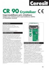 Impermeabilizare prin cristalizare CERESIT