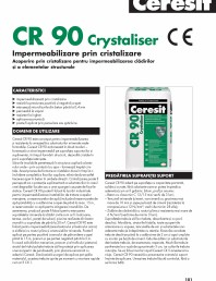 Impermeabilizare prin cristalizare