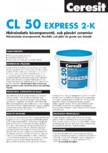 Hidroizolatie bicomponenta CERESIT - CL 50