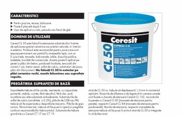 Hidroizolatie bicomponenta CERESIT