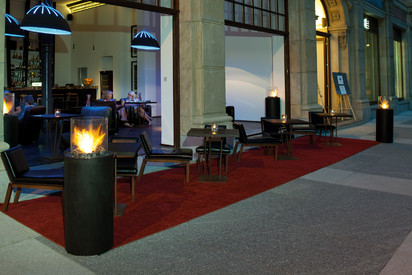 Seminee pe bioetanol pentru exterior si interior / Totem Commerce, Monopol Hotel, Wroclaw, Poland  3