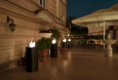 Seminee pe bioetanol pentru exterior si interior / Totem Commerce, Pod Orlem Hotel, Bydgoszcz, Poland 2
