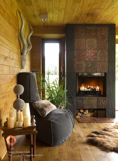 Seminee pe bioetanol / HotBox, Planika, designed by Tomasz Tubisz
