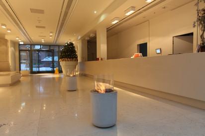 Seminee pe bioetanol pentru exterior si interior / Jar Commerce, Bulwar Hotel, Torun, Poland 4