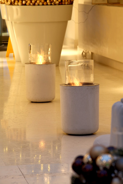 Seminee pe bioetanol pentru exterior si interior / Jar Commerce, Bulwar Hotel, Torun, Poland 2