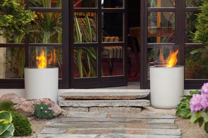 Seminee pe bioetanol pentru exterior si interior / Jar Commerce outdoor