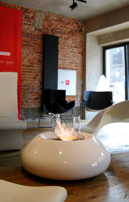 Seminee pe bioetanol pentru exterior si interior / Bubble Commerce, Planika, Krakow, fot. Szymon Krezelok 2