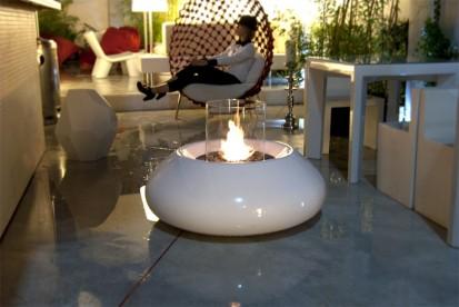 Seminee pe bioetanol pentru exterior si interior / Bubble Commerce, Planika, Sint JI Bar, Szczecinek, Poland