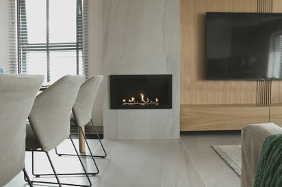 Seminee pe bioetanol / Primefire in Casing, Private Apartment, Poland, design Interno Iza Gajewska (2)