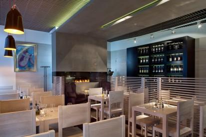 Semineu pe bioetanol cu insertii automate / FLA, Planika, Piekna Bistro Restaurant, Warsaw, Poland, Design OnOff Architekci 3