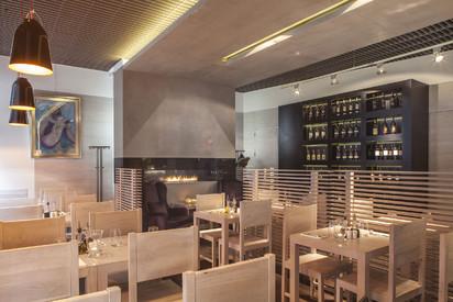 Semineu pe bioetanol cu insertii automate / FLA, Planika, Piekna Bistro Restaurant, Warsaw, Poland, Design OnOff Architekci 4