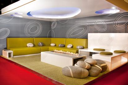 Semineu pe bioetanol cu insertii automate / FLA,INDEX Contemporary Majlis Design Competition, Dubai 2012