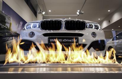 Semineu pe bioetanol cu insertii automate / FLA3, BMW event, Warsaw, Poand_3