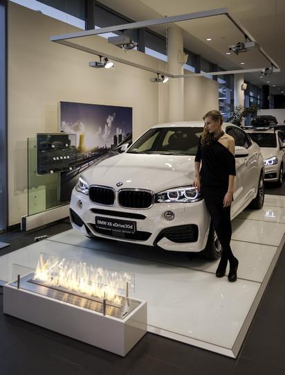 Semineu pe bioetanol cu insertii automate / FLA3, BMW event, Warsaw, Poand_4