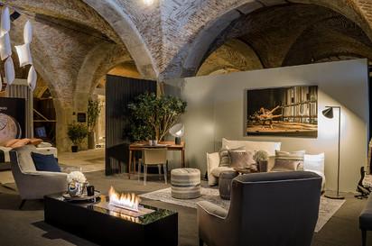 Semineu pe bioetanol cu insertii automate / FLA3, exhibition Sleep in Porto, Portugal, architect Best of Living - Catia de Sá Alves_5
