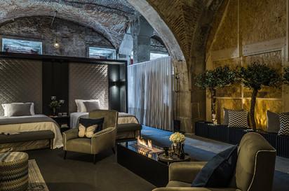 Semineu pe bioetanol cu insertii automate / FLA3, exhibition Sleep in Porto, Portugal, architect Best of Living - Catia de Sá Alves