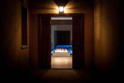 Semineu pe bioetanol cu insertii automate / FLA3_Girona, Spain_private residence, fot. - Michal Kugacz_ 5