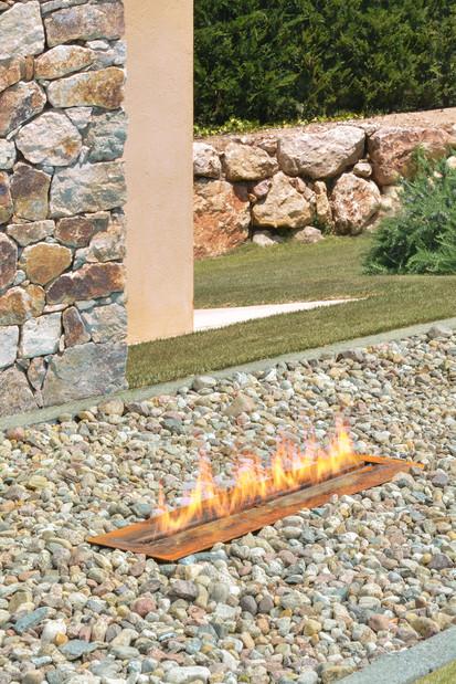 Seminee pe bioetanol pentru exterior / Semineu pe bioetanol pentru exterior (si interior) - FireLine Outdoor