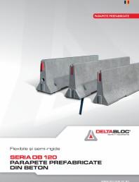 "Parapete prefabricate din beton tip ""NEW JERSEY"""