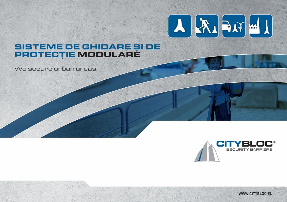 Pagina 1 - Bariere de securitate SOMACO CITYBLOC®, CITYBLOC® TMB 240 Catalog, brosura Romana...