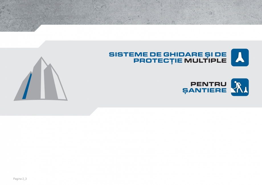 Pagina 2 - Bariere de securitate SOMACO CITYBLOC®, CITYBLOC® TMB 240 Catalog, brosura Romana...