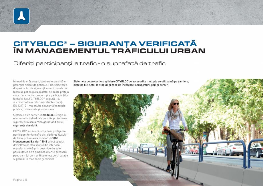 Pagina 4 - Bariere de securitate SOMACO CITYBLOC®, CITYBLOC® TMB 240 Catalog, brosura Romana...