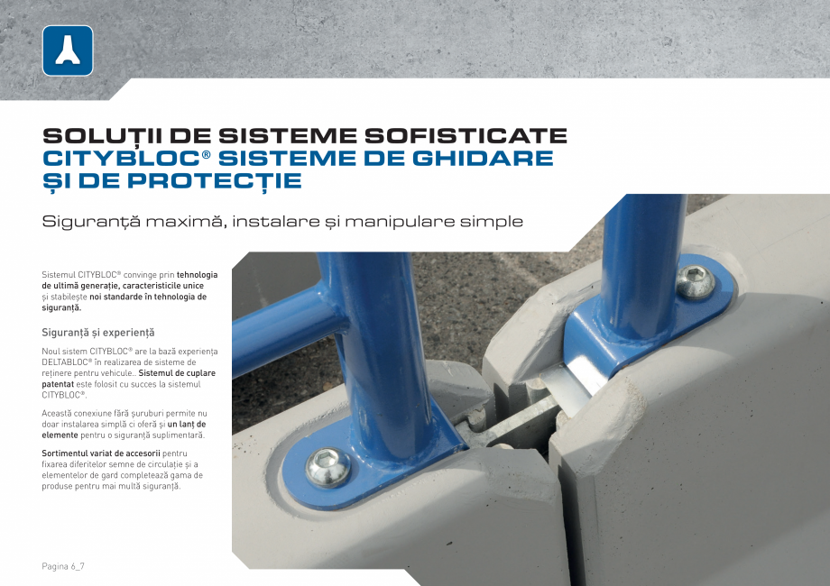 Pagina 6 - Bariere de securitate SOMACO CITYBLOC®, CITYBLOC® TMB 240 Catalog, brosura Romana...
