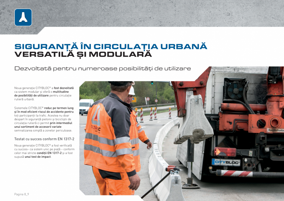 Pagina 8 - Bariere de securitate SOMACO CITYBLOC®, CITYBLOC® TMB 240 Catalog, brosura Romana...