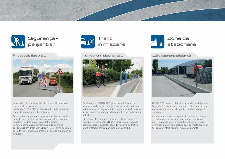 Pagina 9 - Bariere de securitate SOMACO CITYBLOC®, CITYBLOC® TMB 240 Catalog, brosura Romana...