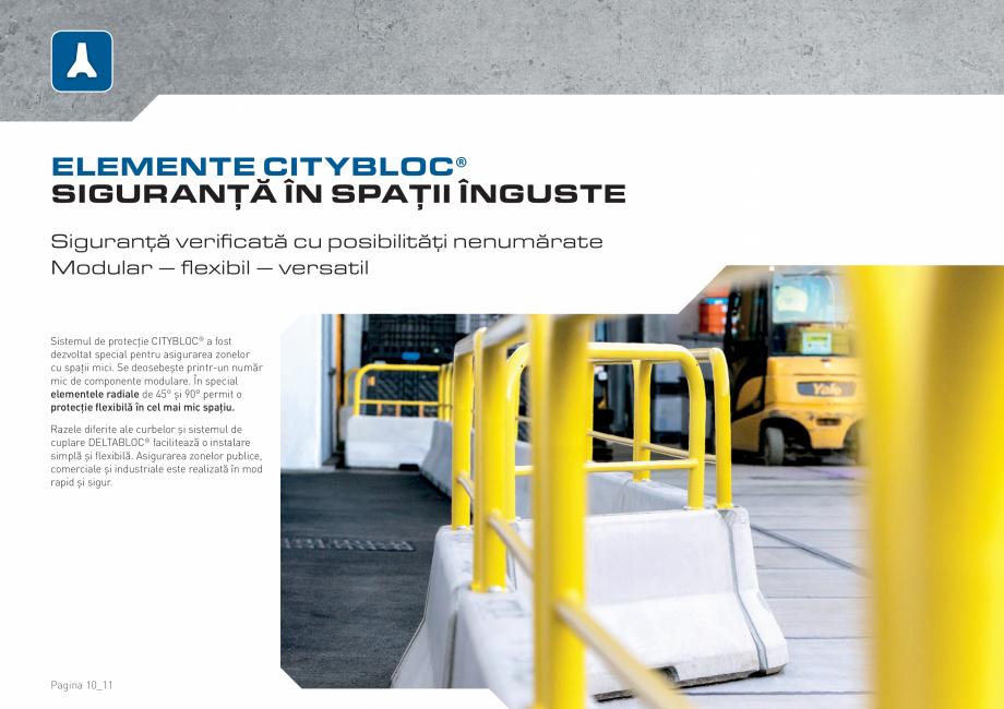 Pagina 10 - Bariere de securitate SOMACO CITYBLOC®, CITYBLOC® TMB 240 Catalog, brosura...