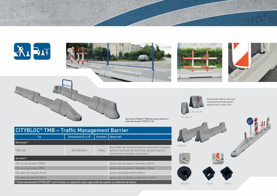 Pagina 13 - Bariere de securitate SOMACO CITYBLOC®, CITYBLOC® TMB 240 Catalog, brosura...