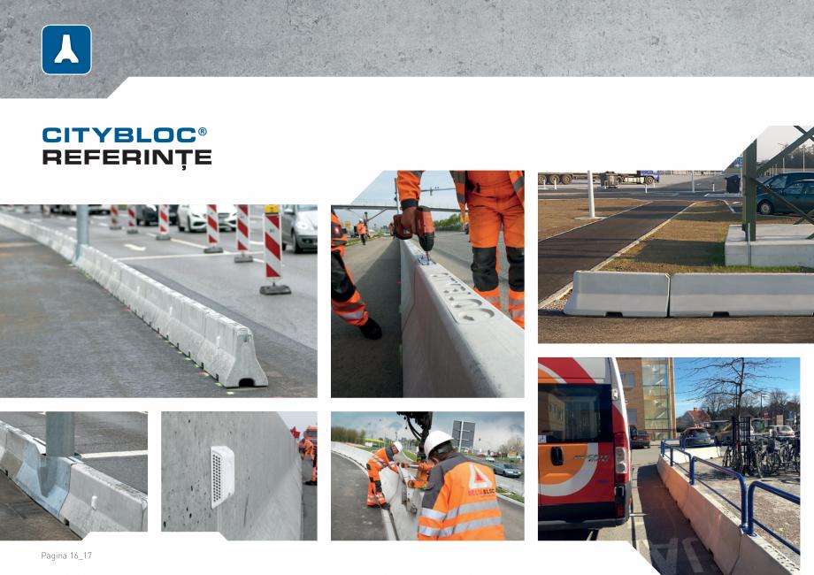 Pagina 16 - Bariere de securitate SOMACO CITYBLOC®, CITYBLOC® TMB 240 Catalog, brosura...