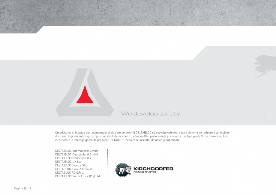 Pagina 18 - Bariere de securitate SOMACO CITYBLOC®, CITYBLOC® TMB 240 Catalog, brosura...