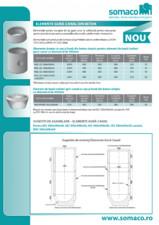Elemente gura-canal din beton SOMACO