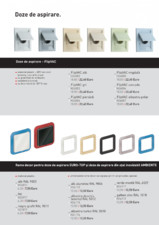 Doze de aspirare ELECTROLUX