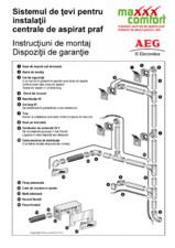 Sistem de tevi pentru instalatia centrala de aspirat praf ELECTROLUX